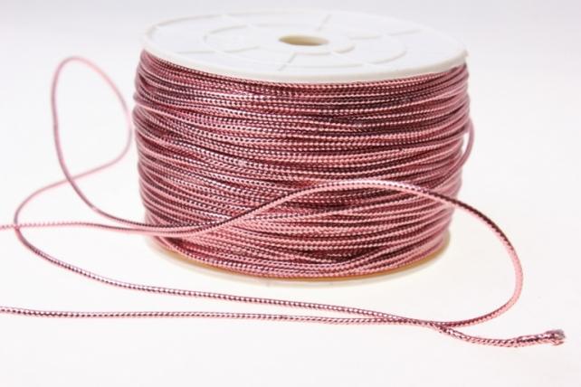Шнур на катушке (2мм х 100м) Э - Розовый