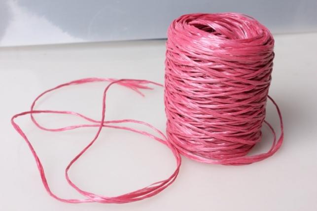 Шпагат полипропиленовый 100м - Розовый