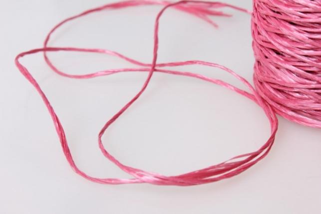 шпагат полипропиленовый 100м - розовый 9143