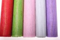 сизаль искусств. 53см*5м сизаль искуст. на цвет. ф. с люриксом (53см 5м) - розовый 836