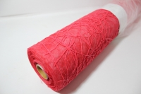 Сизаль на цветном фетре (двойной) (53см х 5м) Красная