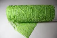 Сизаль на цветном фетре (двойной) (53см х 5м) Салатовая