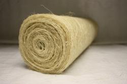 Сизалевое полотно  0,5х9м Белая