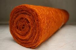 Сизалевое полотно  0,5х9м Оранжевая