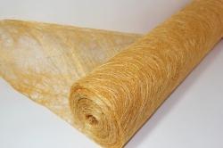 Сизалевое полотно  0,5х9м Персиковая