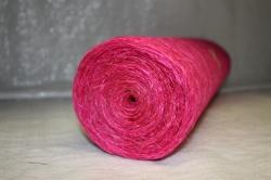 Сизалевое полотно  0,5х9м Розовая