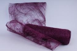 сизалевое полотно  фиолетовый   50смх9м  (м) нн21316ф