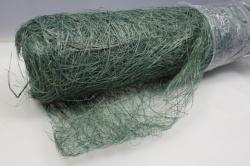 Сизалевое полотно Зеленый, натуральный 48см х 9м WISP
