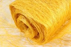 Сизалевое полотно  Ф  (50см*9м) Желтое  Арт142810393