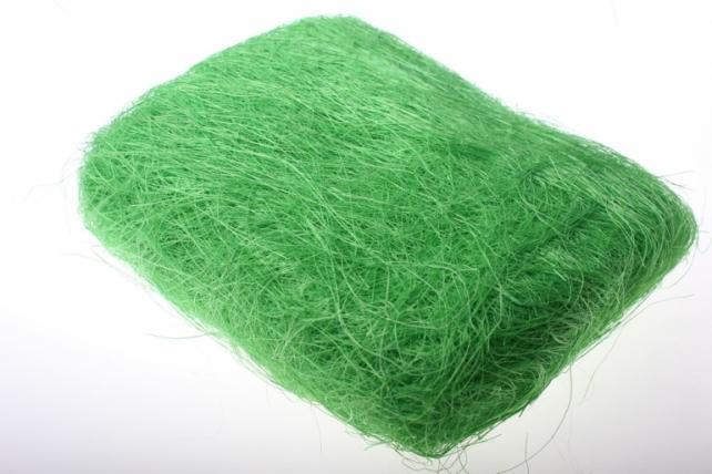 Сизалевое волокно (100гр) в пакете - Салатовое