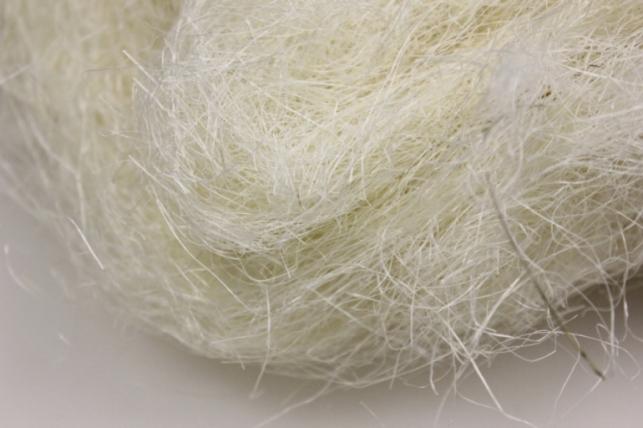 сизалевое  волокно белое (100гр) в пакете
