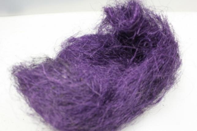 сизалевое волокно фиолетовое (100гр) в пакете