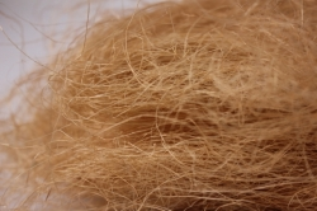 сизалевое волокно натуральное (100гр) в пакете