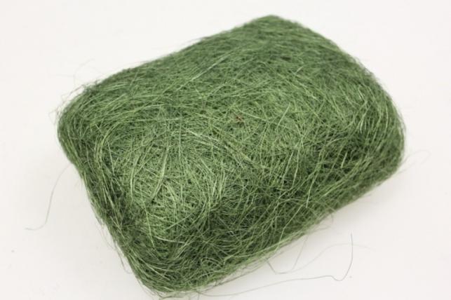 Сизалевое волокно Оливковое (100гр) в пакете