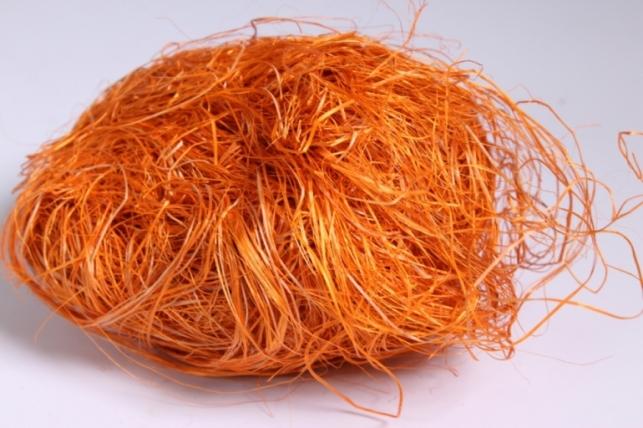 сизалевое волокно - оранжевое (50гр)