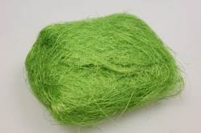 Сизалевое волокно Светло-зеленое (100гр) в пакете
