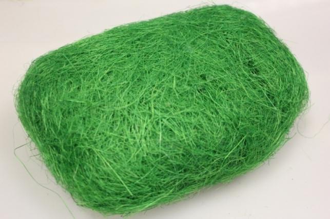 Сизалевое волокно Зеленое яблоко (100гр) в пакете