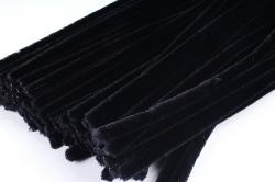 Скрутики Чёрные 30 см(100 шт в уп) NO.21