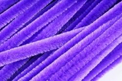 Скрутики Фиолетовые 30 см(100 шт в уп) NO.10