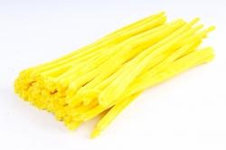 Скрутики Жёлтые 30 см(100 шт в уп) NO.14