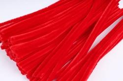 Скрутики Красные 30 см(100 шт в уп) NO.2