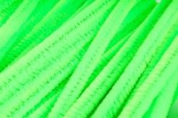 Скрутики Салатовые неон 30 см(100 шт в уп) NO.7