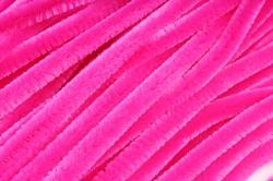 Скрутики Ярко-розовые 30 см(100 шт в уп) NO.8