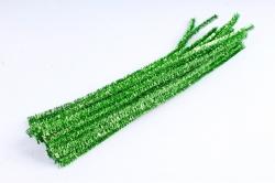 Скрутики Зелёные металл 30 см(20 шт в уп) M17S20