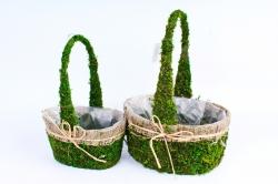 SL18A551 Комплект корзин из травы набор из 2-х шт