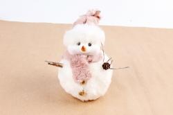 Снеговик с мехом  NSC11