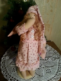 Сонный ангел Розочка в стиле Тильда
