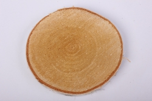 спил березовый 15 см не шлифованный (1шт в сетке)