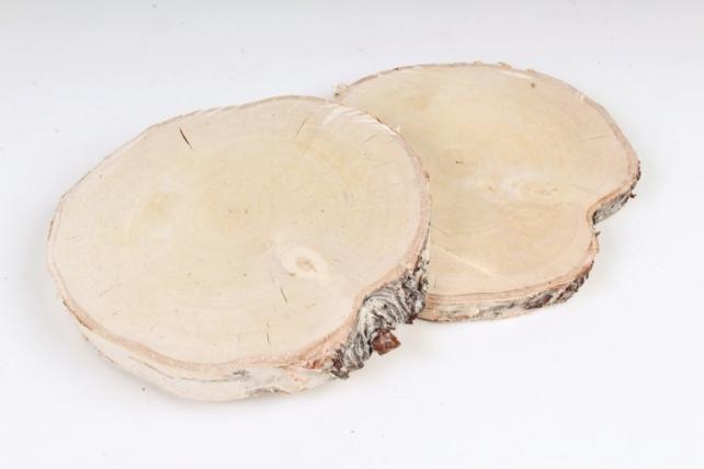 Спилы берёза/ольха/осина d=11-13 см (2 шт в уп)