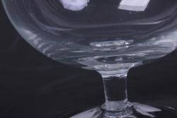 """стеклянная 2148 """"вишенка"""" ваза д/крема (2075)"""