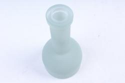 Стеклянная ГЕЛЛЕР бутылочка-ваза для одного цветка  Мятная микс матовый Микс-1504 матов