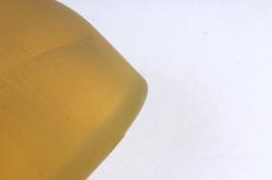 Стеклянная ГЕЛЛЕР бутылочка-ваза для одного цветка  Оливковый микс матовый Микс-1504 матов