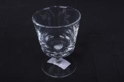 Стеклянная  Каркаде-3 ваза малая с плиткой d=10,5 h=14,5см 1604