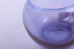 """стеклянная """"кюгель-1"""" ваза-шар цветной сирень  миксмикс-2233"""