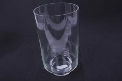 """Стеклянная """"Лола"""" ваза2376 d=16,5 h=30см"""