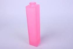 """Стеклянная """"Нарцисс"""" ваза для одного цветка цветная матовый Розовый миксМикс-1554"""