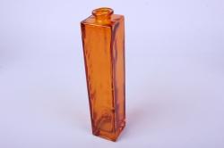 """Стеклянная """"Нарцисс"""" ваза для одного цветка цветная прозрачный Коричневый миксМикс-1554"""