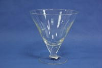"""стеклянная""""палермо""""ваза2483 h=17см d=17см"""