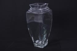 """Стеклянная ваза """"Саламандра"""" 7,5х7,5 h=31см 2399"""