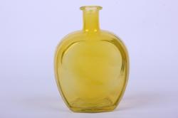 стеклянная сердце-1 ваза-бутылка декоративная цветная миксмикс-1564