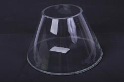 """Стеклянная """"Трапеция"""" ваза d=10 h=13,5см 2279"""