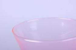 """стеклянная  """"весна"""" ваза 182 большая цветная розовый миксмикс-2588"""