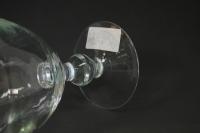 "стеклянная""везувий-1""вазананожкеd=17 h=25см"