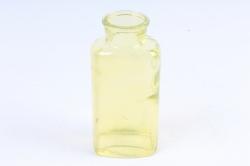 Стеклянная  Уинстон Вазочка овальная декоративная (1191) Лимонный цветная миксМикс-1705
