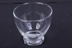 """стеклянный 2441 """"фуршет""""  подсвечник из стекла  003161"""