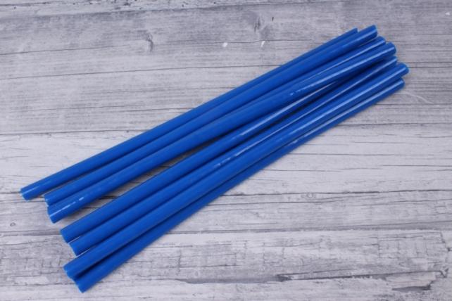 стержень 20 см клеевой d=7 мм синий
